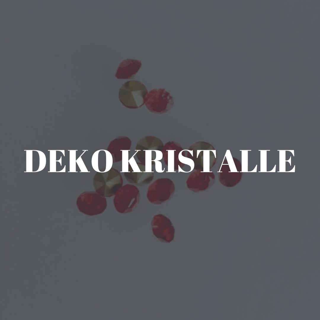 DEKO KRISTALLE